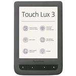 Tablet - čtečka knih Pocketbook 626 Touch Lux 3, Carta e-ink, Grey