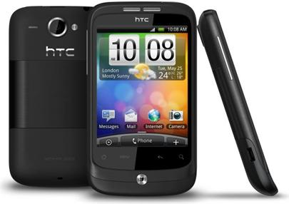 HTC Wildfire Black A3333 (Buzz)