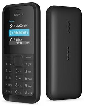 Nokia 105 DS Black (dualSIM)