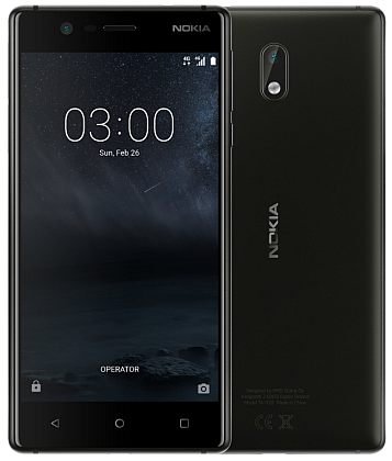 Nokia 3 DS Black (dualSIM) Android 7.0