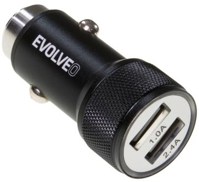 Adapter CL EVOLVEO MX240 2x USB 2,4A BLISTR