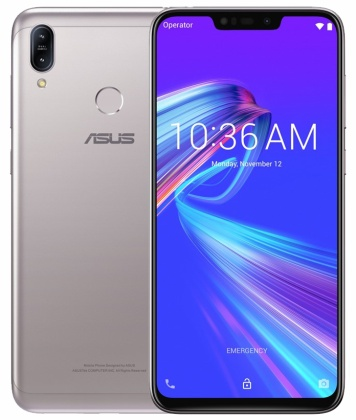 "ASUS ZenFone Max M2 (ZB633KL4J072EU) Silver - 6,3"", 8x 1,8GHz, 32GB/4GB, Android 9.0"
