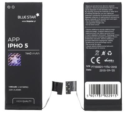 Baterie Blue Star pro Apple iPhone 5 1440mAh Polymer HQ
